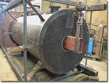 Evaporator designed by our customer and fabricated per their specifications.